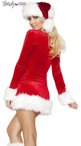 Santa's Saint Costume - Red