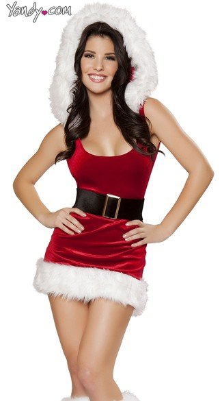 North Pole Babe Costume - Red