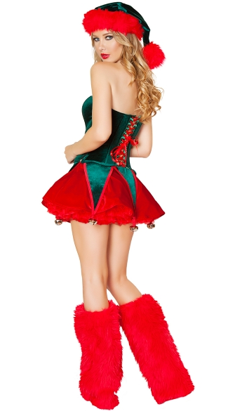 Naughty Elf Costume - As Shown