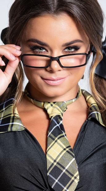 Sexy Secretary Glasses - Black