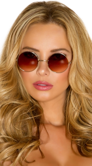 Hippie Glasses - As Shown