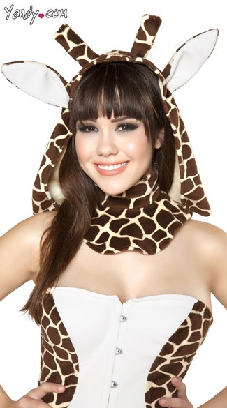 Giraffe Hood - As Shown