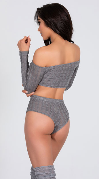 Cozy and Comfy Lounge Short Set - as shown