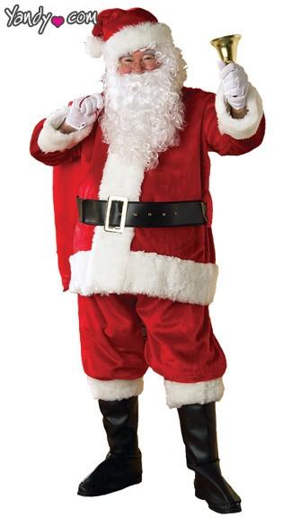 Premier Plush Santa Suit - Red