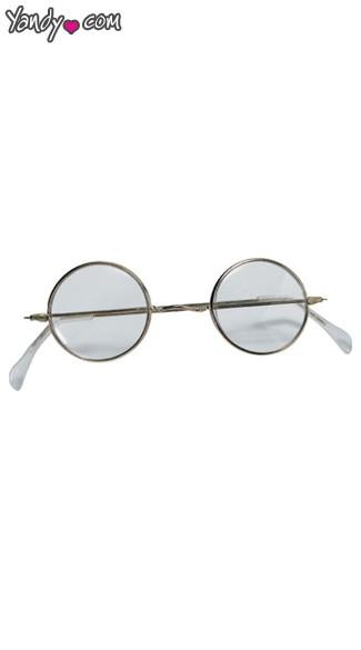 Round Santa Glasses - As Shown