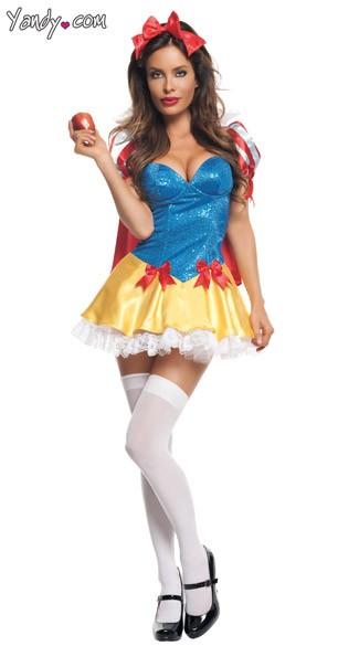 Sexy snow white lingerie