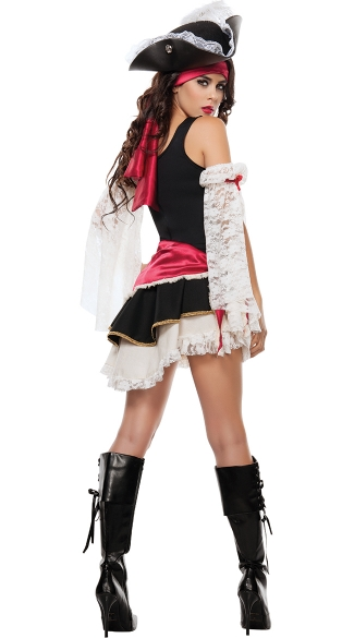 Pirate Matey Costume - As Shown