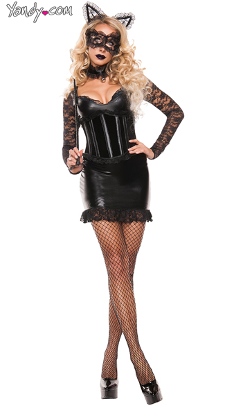 Cinched Kitty Costume - As Shown