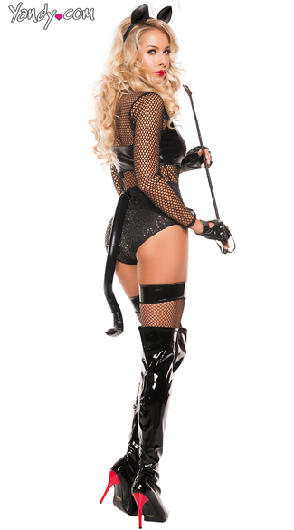 Midnight Cat Costume - Black