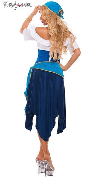 Gypsy Maiden Costume - As Shown
