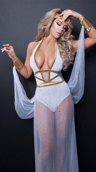Goddess Of Beauty Costume, sexy goddess of beauty costume, goddess costume, sexy goddess costume, greek goddess costume, sexy greek goddess costume