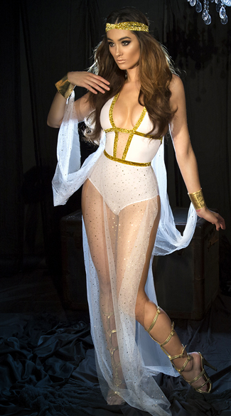 Goddess Of Beauty Costume - as shown