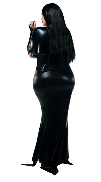 Plus Size Cara Mia Mistress Costume - As Shown