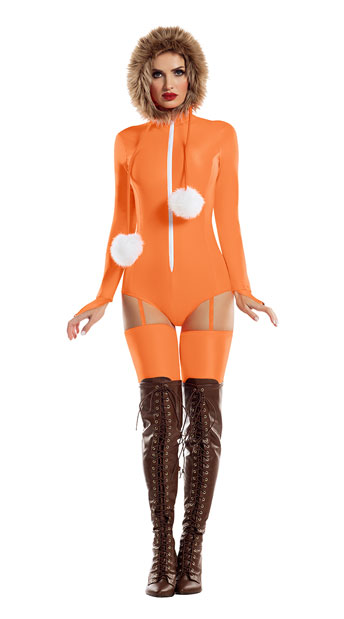 Small Town McKenna Costume - Orange