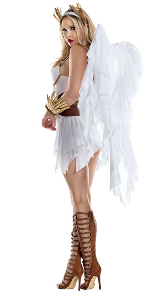 Arch Angel Costume - White