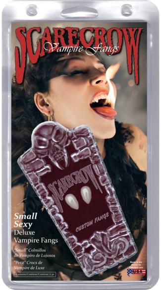 Small Love Bites Fangs - White