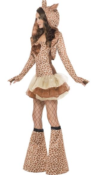 Flirty Giraffe Costume - Brown