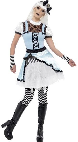 Gothic Wonderland Costume, Alice And Wonderland Costume, Dark Alice Costume-6951