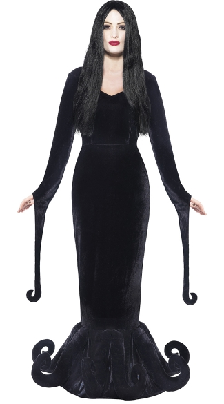 Duchess Of The Manor Costume - Black