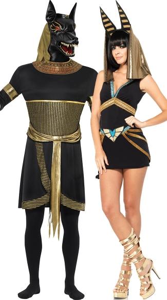 Egyptian Gods Couples Costume  sc 1 st  Yandy & Egyptian Gods Couples Costume Menu0027s Egyptian God of the Afterlife ...