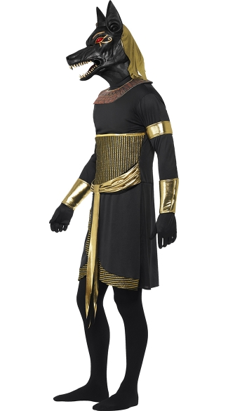 Men's Egyptian God of the Afterlife Costume - As Shown