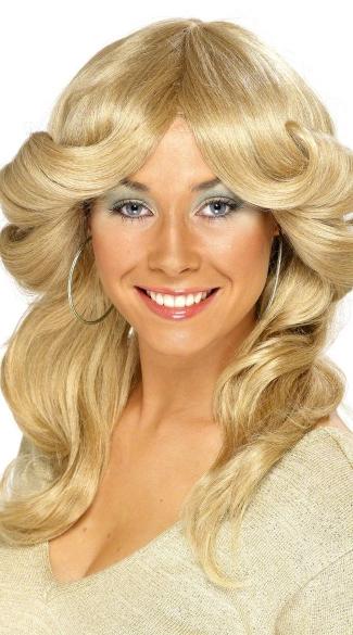 Sexy 70's Blonde Wig - Blonde