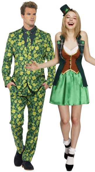 St. Patricku0027s Couples Costume  sc 1 st  Yandy & St. Patricku0027s Couples Costume St. Patrick Sweetie Costume ...