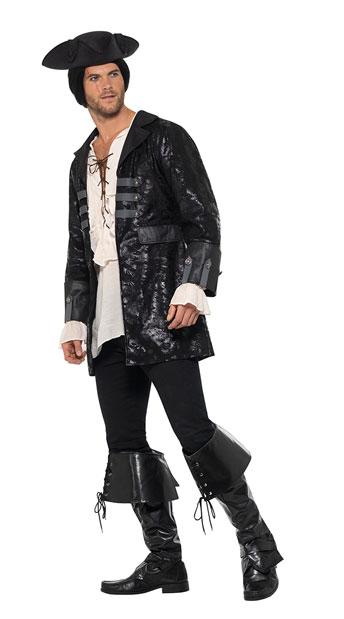 Men's Black Buccaneer Jacket - As Shown