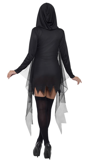 Sexy Reaper Costume - As Shown