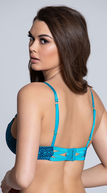 Spree Jaded Push-Up Bra - Jade
