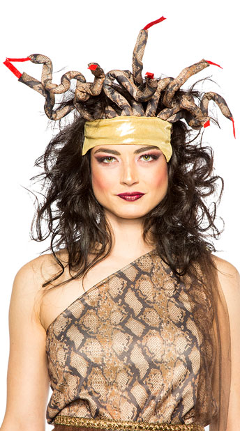 Medusa Headpiece - As Shown
