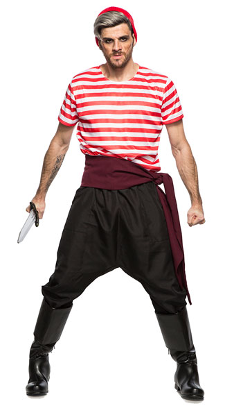 Pirate Crew Member Costume, men\'s pirate costume - Yandy.com