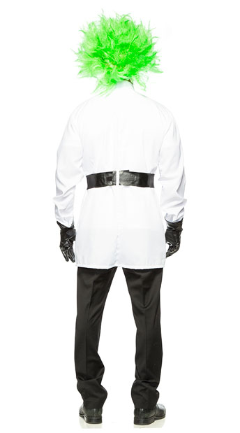 Men's Mad Scientist Costume - As Shown