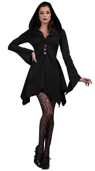 Witch Costume, Witch Robe Costume, Witch Dress Costume