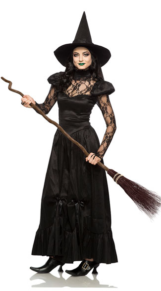 Emerald Witch Costume, lace witch costume - Yandy.com