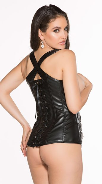 Bad Babe Corset Set - Black