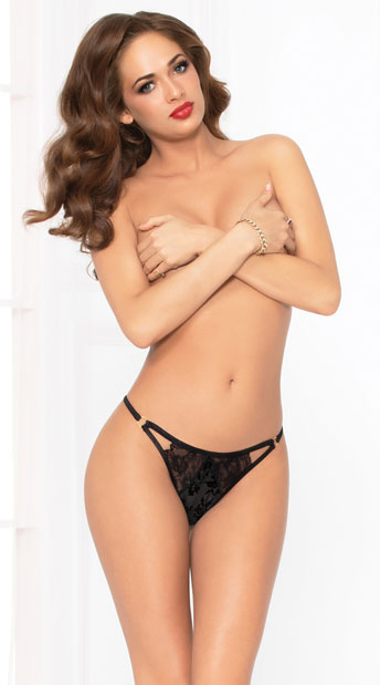 Pretty Prestige Panty - Black