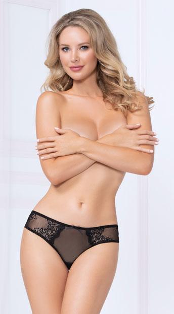 Vibrant Gal Bikini Panty - Black