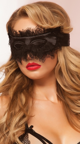 Glamorous Eyelash Mask, Eye Mask for Sleeping, Sleep Face Mask