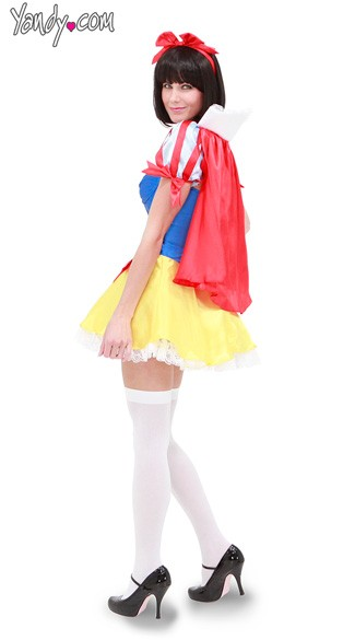 Sequin Snow White Costume - As Shown