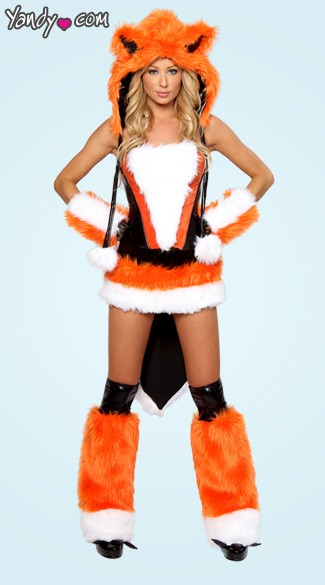Sexy Fox Costume What Does The Fox Say Costume Sexy