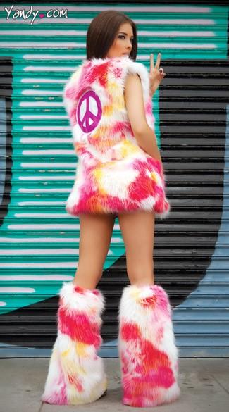 Shaggadelic Costume Shaggadelic Set Shaggadelic Costume Dress Pink Fringe Dress Hippie Dress Shaggadelic Vest Long Hippie Vest Costume Vest ...  sc 1 st  Yandy & Shaggadelic Costume Shaggadelic Set Shaggadelic Costume Dress ...