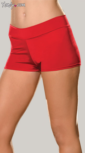 Spandex Shorts - Red
