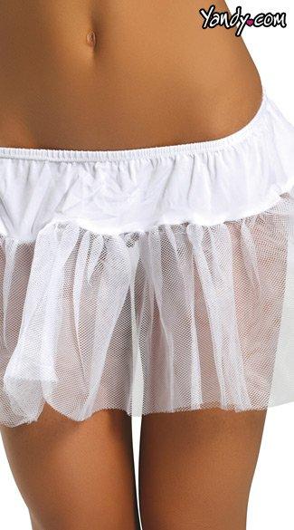 Trimless Petticoat - White