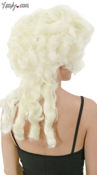 Marie Antoinette Wig - Platinum White