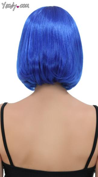 Royal Blue Bob Wig - Regal Blue