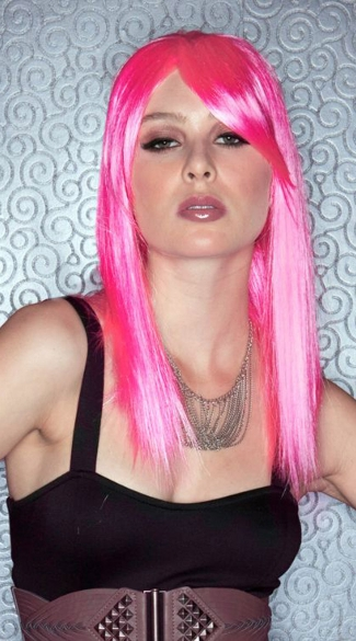 Pink Explosion Straight Wig - Pink Explosion