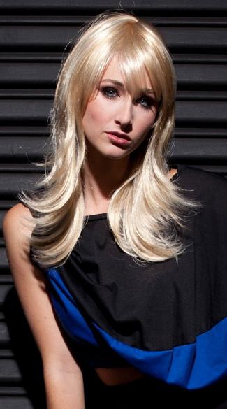Soft Blonde Layered Wig - Banana Split