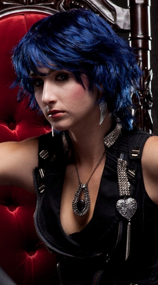 Midnight Blue Choppy Layers Wig - Midnight Blue