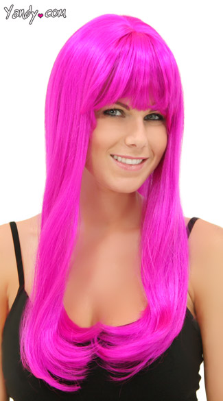Magenta Sweetheart Wig - Magenta